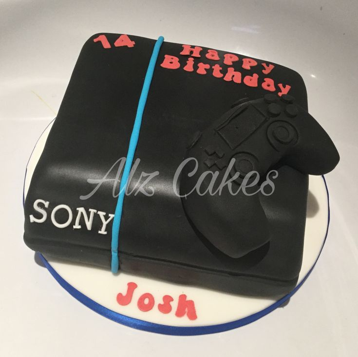PS4 Rich Chocolate Birthday Cake  Newest addition to my cake portfolio, perfect for the gamer in your life!  Prebook today to see ours your delivery dates. #Leeds #uk