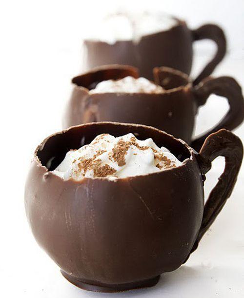 DIY Chocolate cups!!
