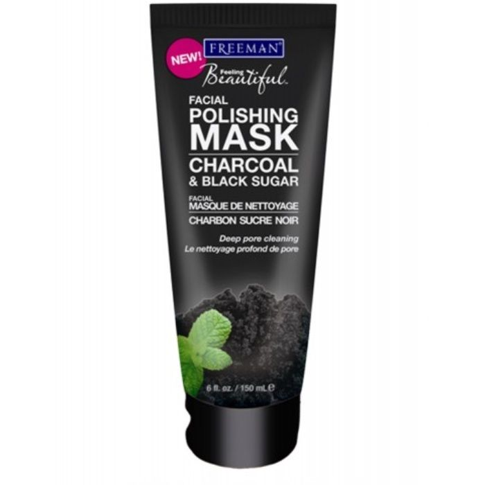 The Ten Best Charcoal Face Masks // #10 Freeman Charcoal & Black Sugar Facial Polishing Mask // Check out the rest of the best here!