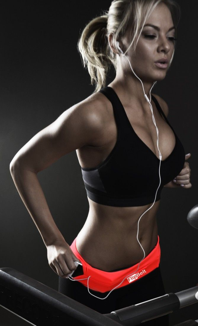 Run without worrying about where to put your phone with the FlipBelt.