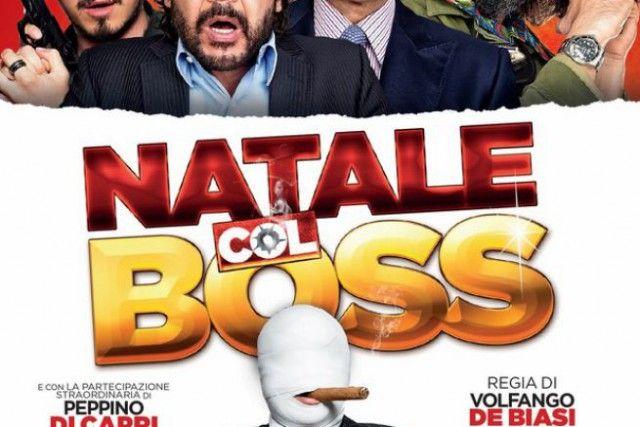 """""""Natale col boss"""", la nuova fatica cinematografica di Volfango De Biasi, sarà nei cinema di tutta Italia dal 16 dicembre."""