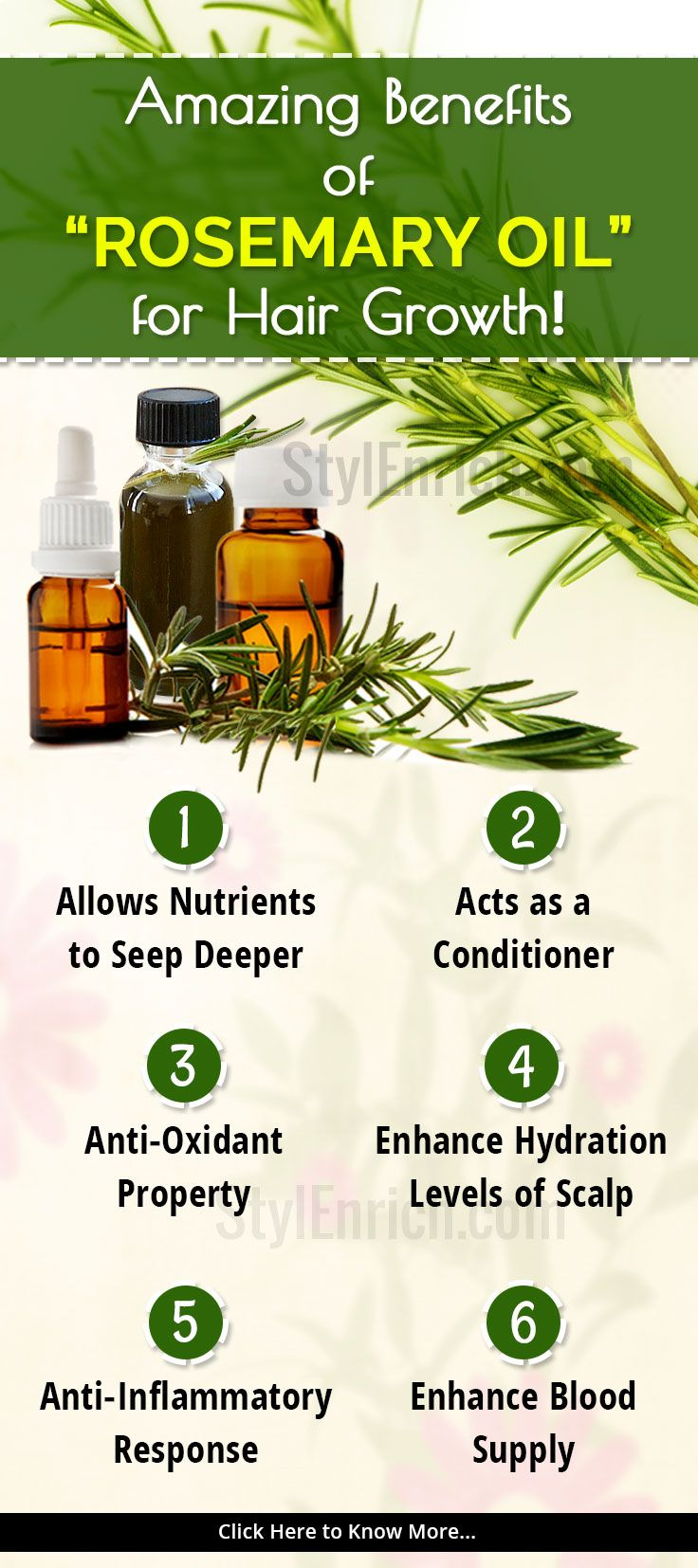 #HairFall is a major concern among many and it is a common problem.Let's see here the reasons for hair fall and amazing benefits of rosemary oil for hair growth.