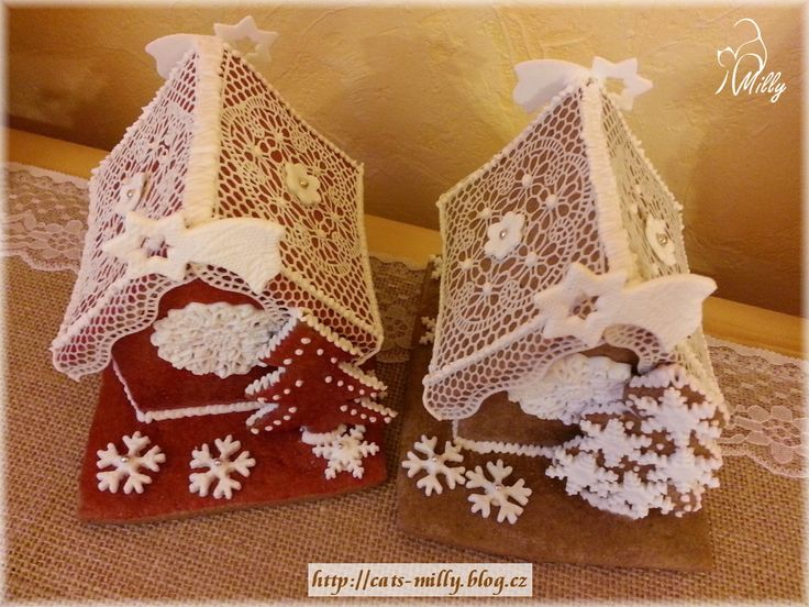 gingerbread house - perníkové domečky