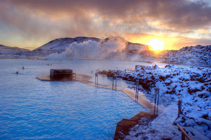 Le Lagon bleu, Islande