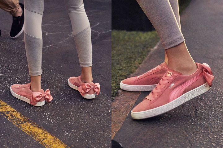 00003 Puma Sneakers SUEDE HEART VALENTINE PARADISE PINK