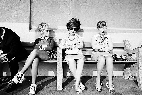 Blackpool, England, 1970. Photo by Martin Parr [X]