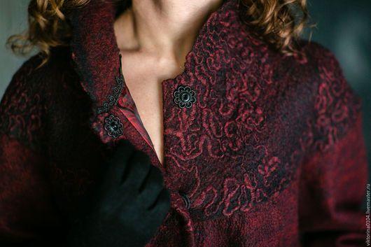 Верхняя одежда ручной работы. Пальто