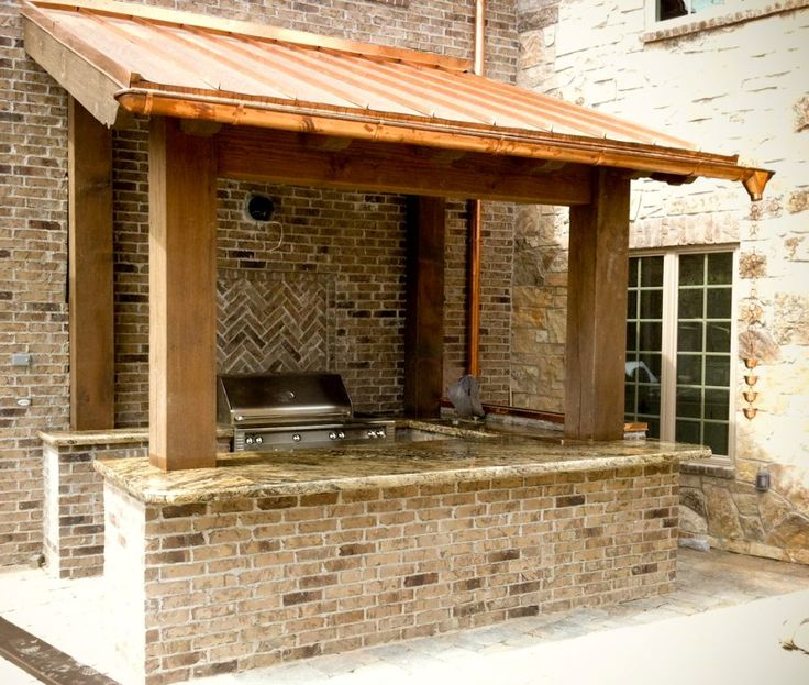 elegant and also gorgeous outdoor kitchen ideas pertaining to found residence