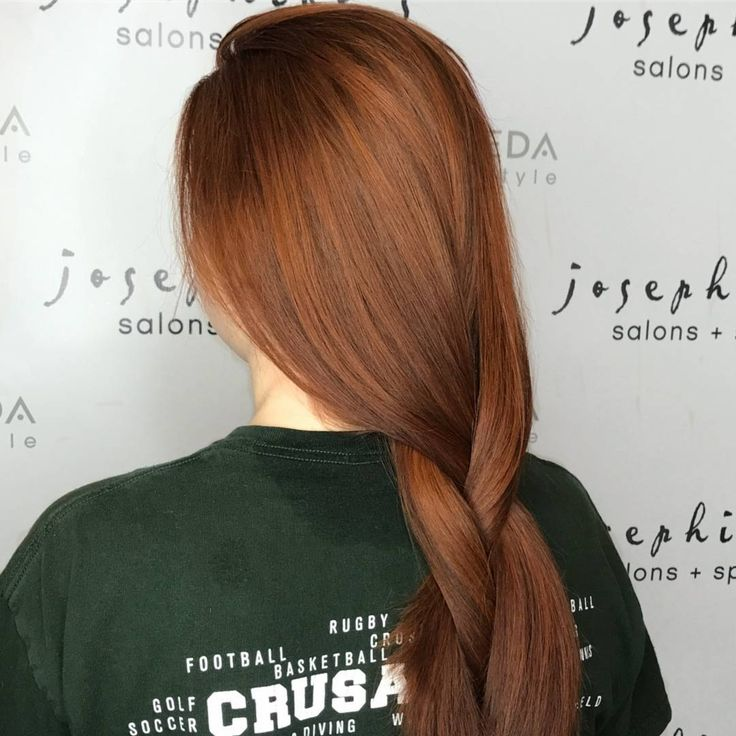 Red hair by Josephine's Day Spa & Salon Houston, Texas