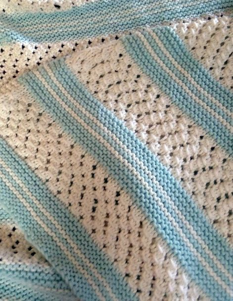 642 Best Free Knitted Patterns Baby Blankets Images On Pinterest