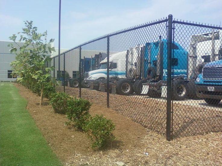 Atlanta Chain Link Fence Installation - http://www.fenceworksofga.com/chain-link-fence-installation/