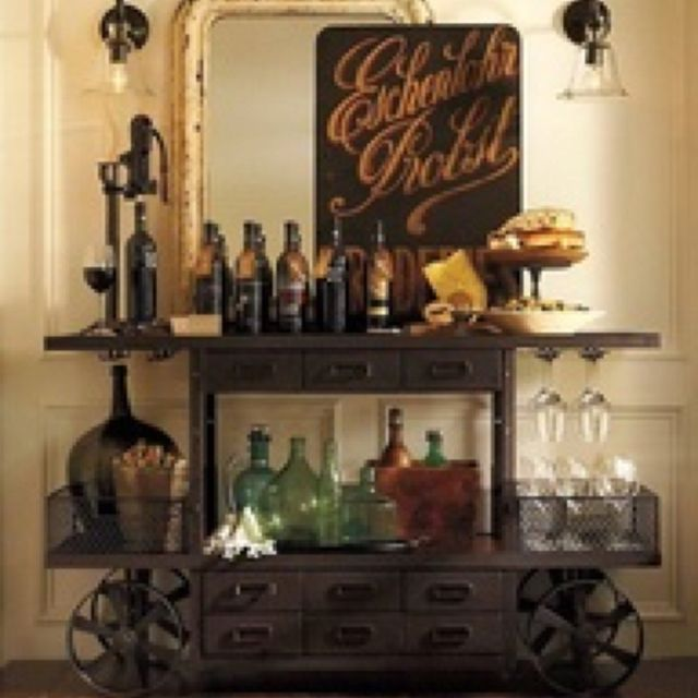 wine/bar cart