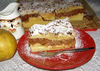 W Mojej Kuchni Lubię.. : pyszne ciasto ucierane z jabłkami budyniowymi i po...