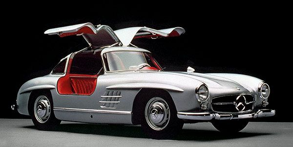 1950s 300SL Gullwing. One of the greatest Mercedes Benz ever designed.