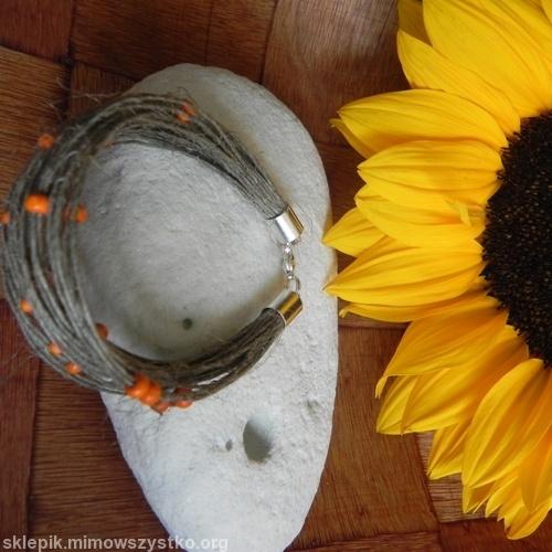 #bransoletka #natura - ulubiony motyw twórców Republiki Marzeń :)  #handmade