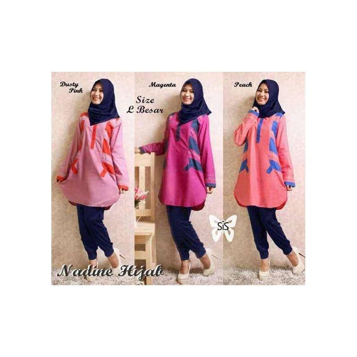 Jual Baju Sis Nadine Hijab TA - Pusat Grosir Baju Metro Tanah Abang