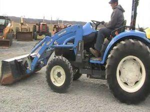 maintenance new holland tc45d 4 cylinder compact tractor parts rh pinterest com New Holland TC45 Tractor New Holland Boomer Compact Tractors