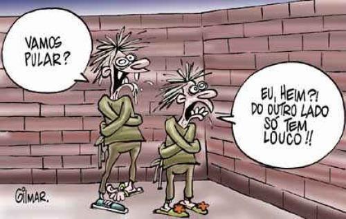 Texto teatral que usa o humor para tratar da falha de comunicação no diálogo entre duas pessoas... http://leiturartes.com.br/conversa-de-loucos