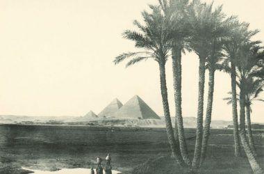old Egypt pyramid photo