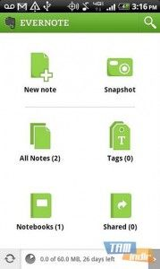 Evernote Android İndir