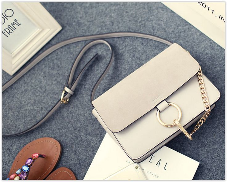 Faux Leather Shoulder Bag #chic #shoulderbag #crossbodybag