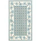 Chelsea Blue/Ivory 3 ft. 9 in. x 5 ft. 9 in. Area Rug