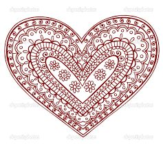 Resultado de imagen para mandalas corazon