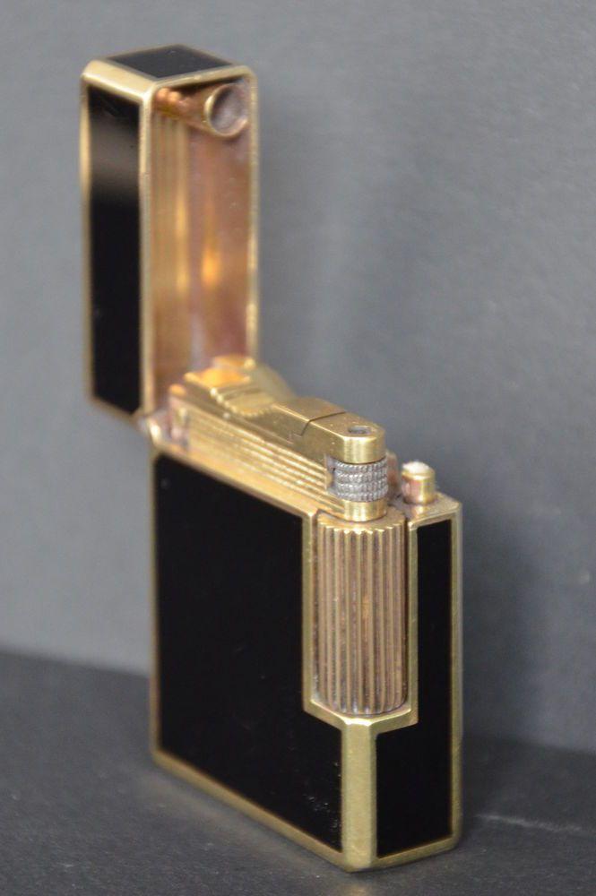 briquet st dupont essence petit mod le fuel lighter. Black Bedroom Furniture Sets. Home Design Ideas