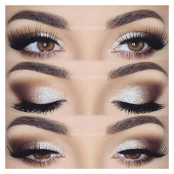 18 Prom Makeup Ideas That Are Truly Awesome ❤ liked on Polyvore featuring beauty products and makeup