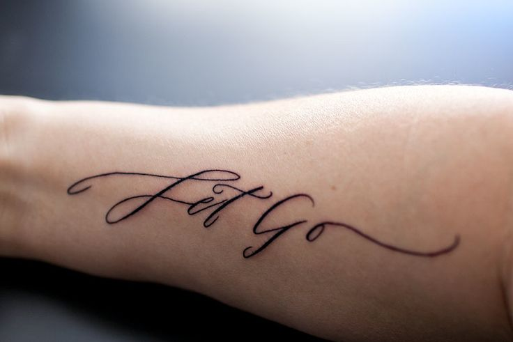 Love this tattoo - calligraphy by Betsy Dunlap