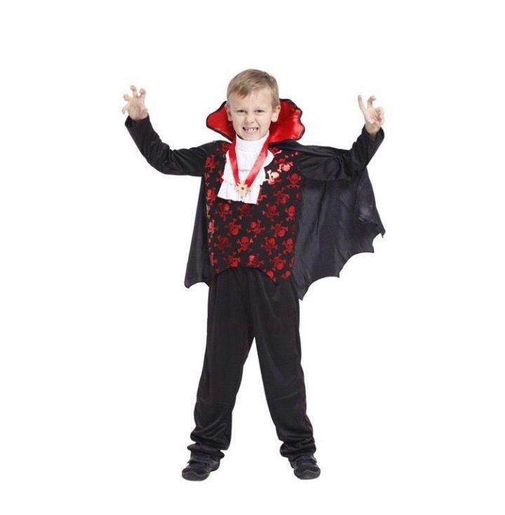 Kinder kostuum Vampier