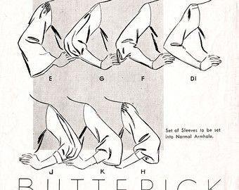 Vintage 1930er Jahre Papier herrschte
