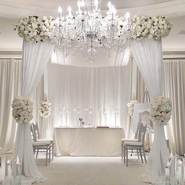 Wedding Altar Decor Pinterest: 17 Best Images About Drapes And Aisles Decor On Pinterest