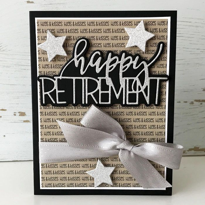 Pin by Missy Terry on My handmade cards | Happy retirement ... |Handmade Retirement Cards
