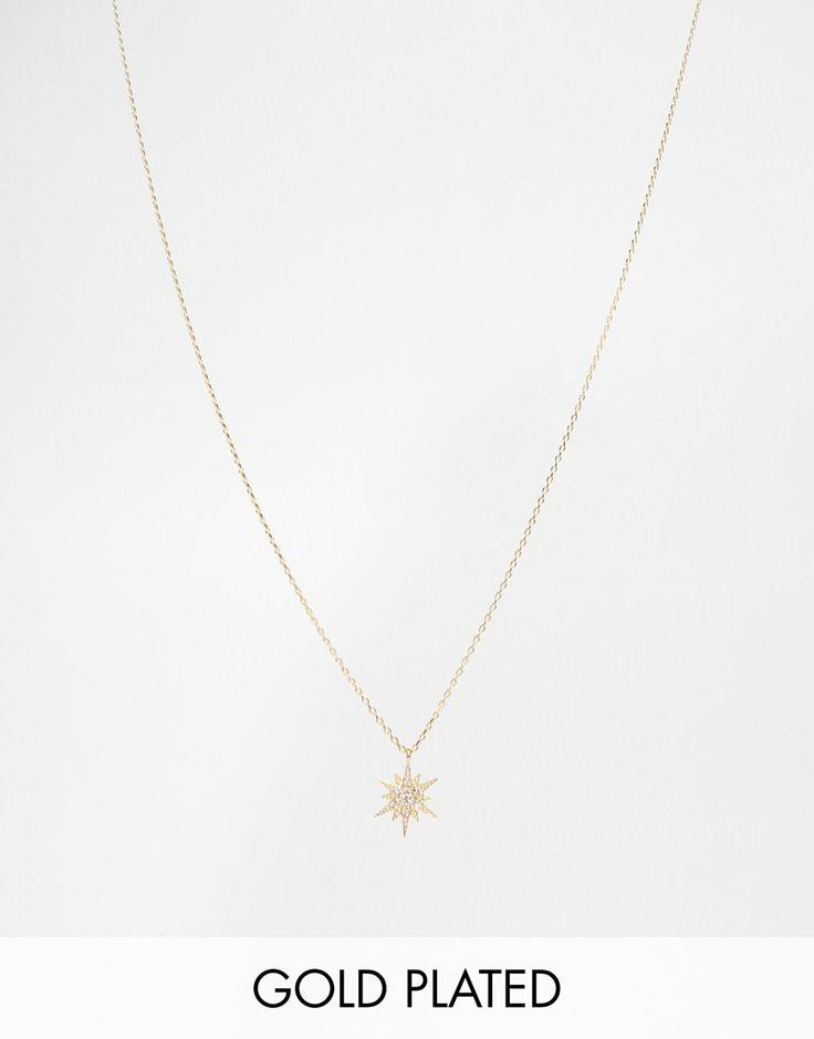 Image 1 ofEstella Bartlett Starburst Star Necklace