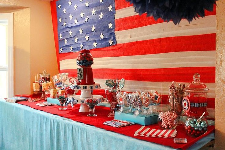 Welcome home military party ideas let freedom ring for Military welcome home party decorations