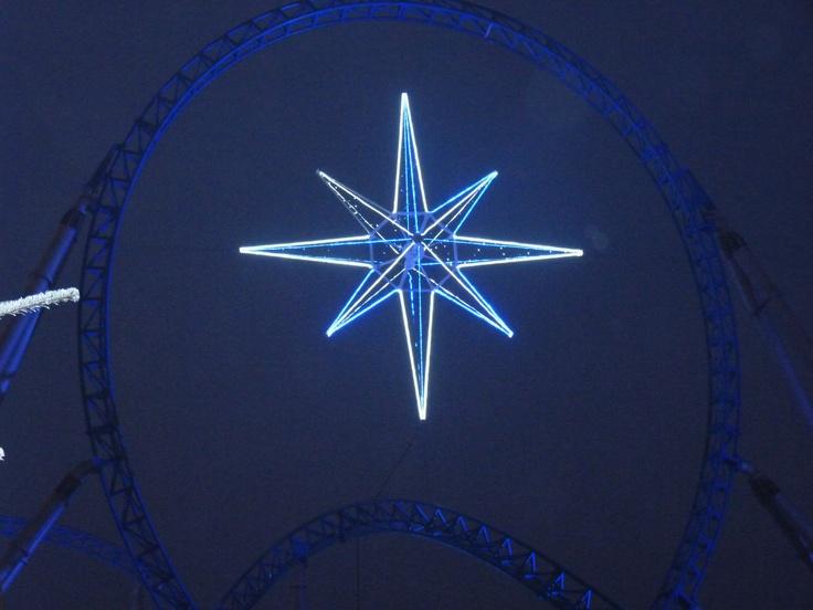 Attraktion: Bluefire  ... Im Winter