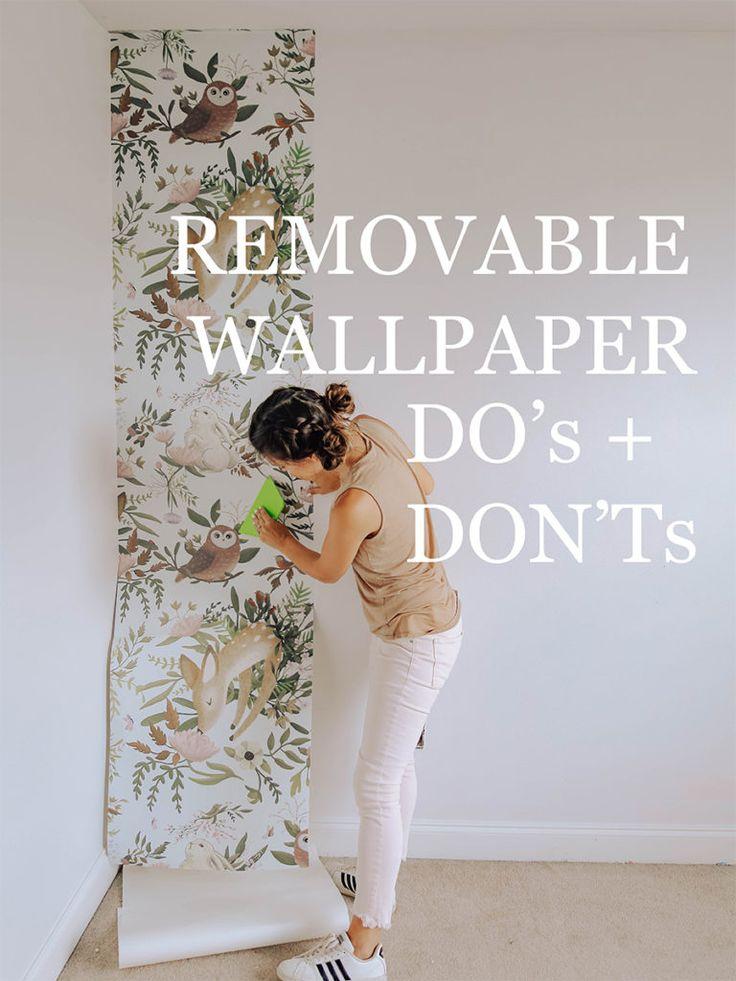 How to Apply Removable Wallpaper + Sources Wallpaper