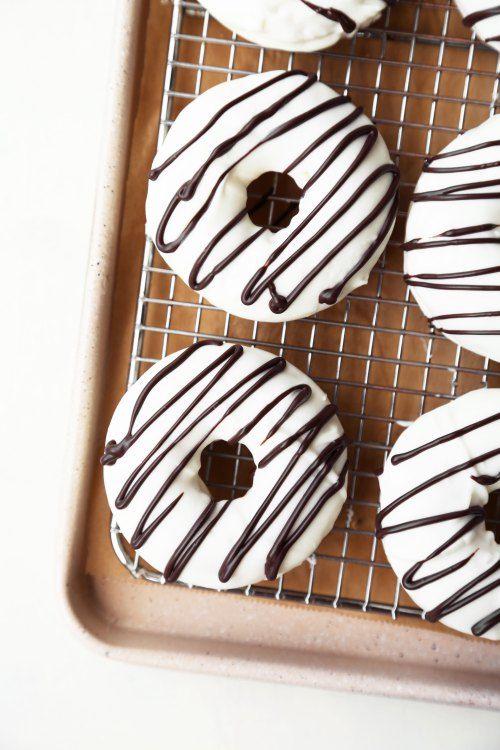 zebra cake doughnuts