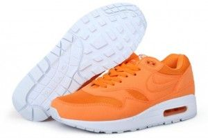 Prezzi bassi ripstop brights arancioni/bianche - scarpe da corsa nike uomo air max 1 gs saldi online roma