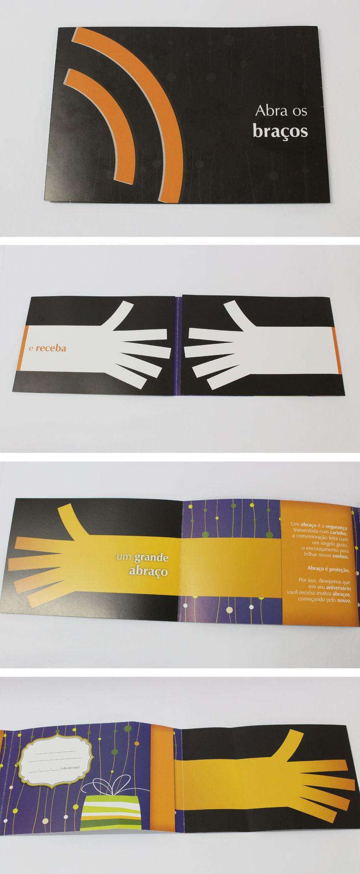 Impressos desenvolvidos pela Agência Conceito.
