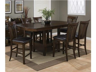 Mirabella Counter Height Dining Set By Jofran At Crowley Furniture In Kansas City