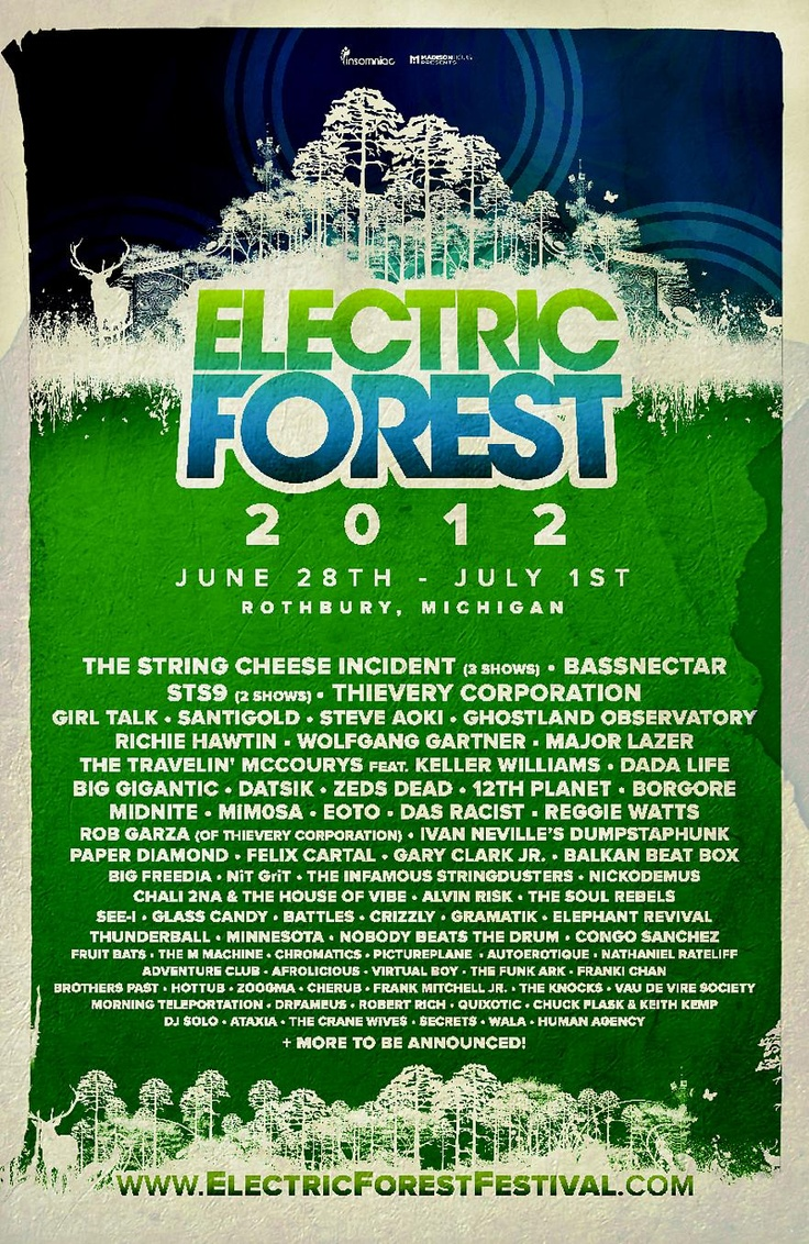 can't wait!!!Electric Forest