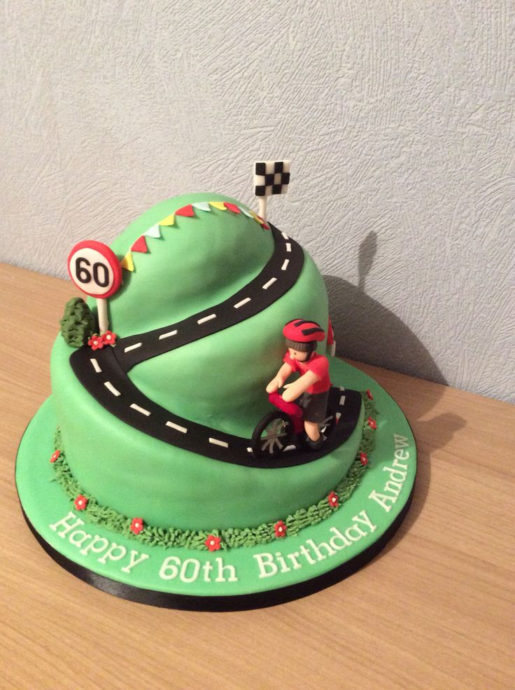 Cycling Cake Cake Decorations Pinterest Cake and ...