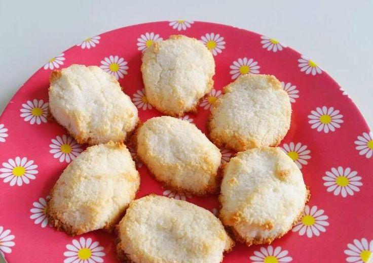 Suikervrije Kokoskoekjes / Sugar free coconut cookies