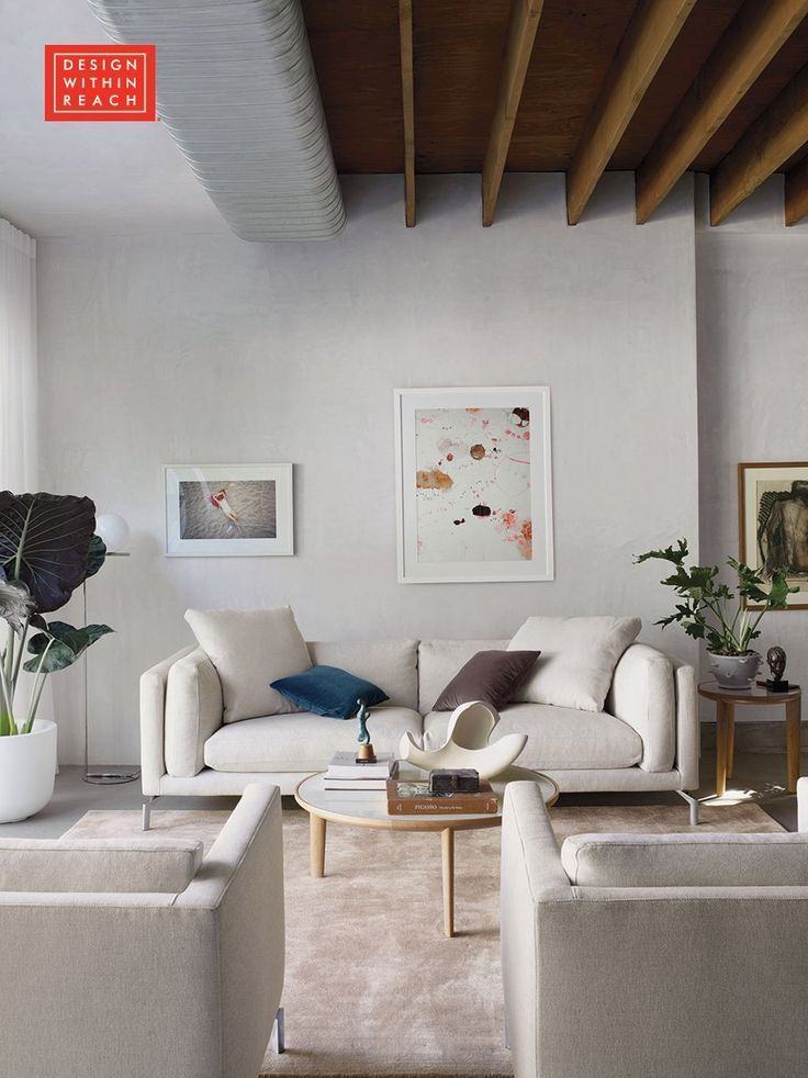 neutrals can be soothing. they can also command the room. check out