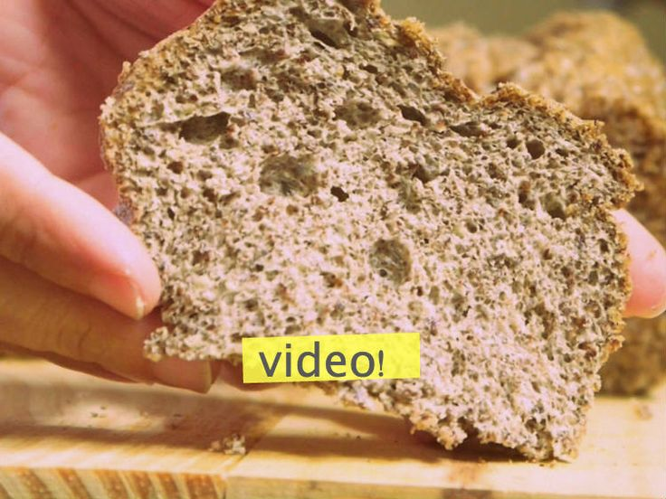 Aunque no lo crean existe, un pan sin gluten, CERO harina, 100% fibra y no solo no engorda... ¡adelgaza! no se pierdan esta receta.