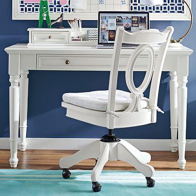 Chelsea Classic Desk + Hutch #pbteen