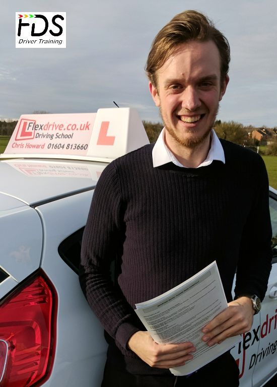 Congratulations to Will Kennedy who passed his practical Driving Test on the 7th March 2017 – 1st time too. Very well done and best wishes from your Driving Instructor Chris and all of us here at Flexdrive Driving School.  Will has had driving lessons in Wellingborough with Flexdrive Driving School. #drivinglessons #learntodrive #wellingborough #kettering