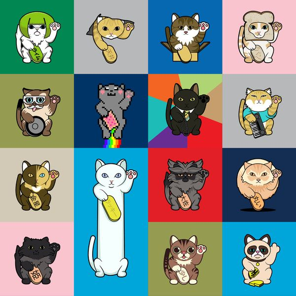 lucky cats lolcats the lolcat lineup lime cat